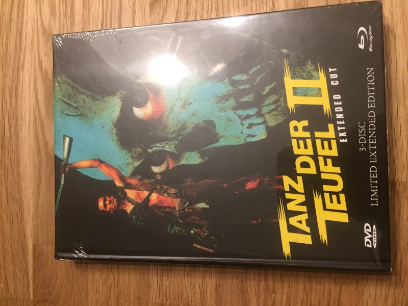Tanz der Teufel 2 - Retro - Mediabook - NEU / OVP