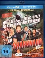 SHARKNADO BOX Blu-ray 3D Teil 1-3 + Doku Fisch Horror Trash