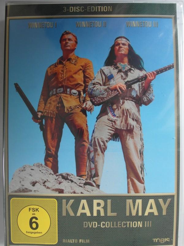 Winnetou 1, 2, 3 - Karl May - Pierre Brice, Lex Barker