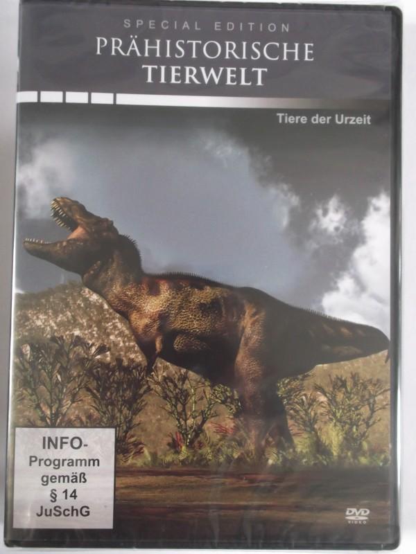 Prähistorische Tierwelt - Tiere der Urzeit - Krokodile, Haie