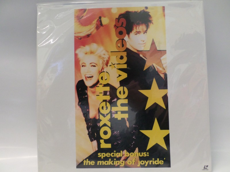Roxette ‎– The Videos Japan NTSC 70min (Laser disc)
