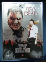 Dawn of the Dead & Shaun of the Dead STEELBOOK Import