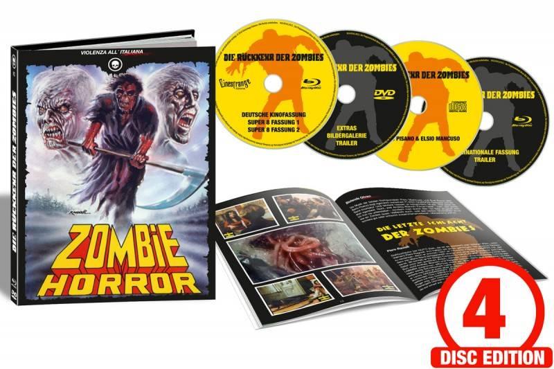 Die Rückkehr der Zombies - Mediabook Cover D