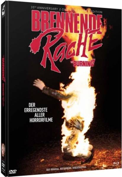 The Burning - Brennende Rache - Limited Mediabook Edition
