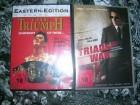 TRIADS IN WAR DVD + THE TRIUMPH DVD EDITION NEU OVP