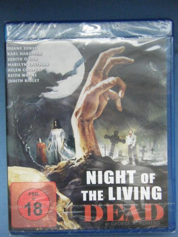 Romero´s Night of the Living Dead Blu-Ray FSK18 NEU OVP