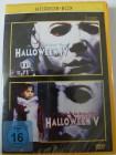 Halloween 4 & 5 - Rückkehr  + Rache Michael Myers - Horror