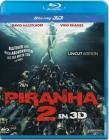 3D Blu-ray Piranha 2 - UNCUT wie NEU