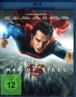 MAN OF STEEL Blu-ray - Superman Justice League DC Comic