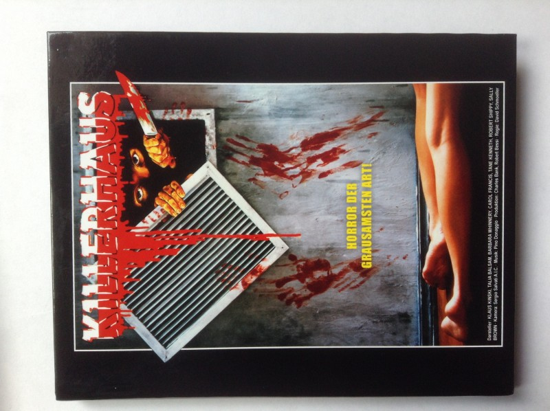Blu-ray Hartbox Das Killerhaus Klaus Kinski Crawlspace