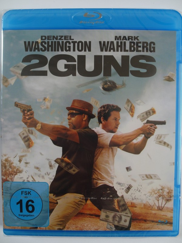 2 Guns - Denzel Washington, Mark Wahlberg - US Marines