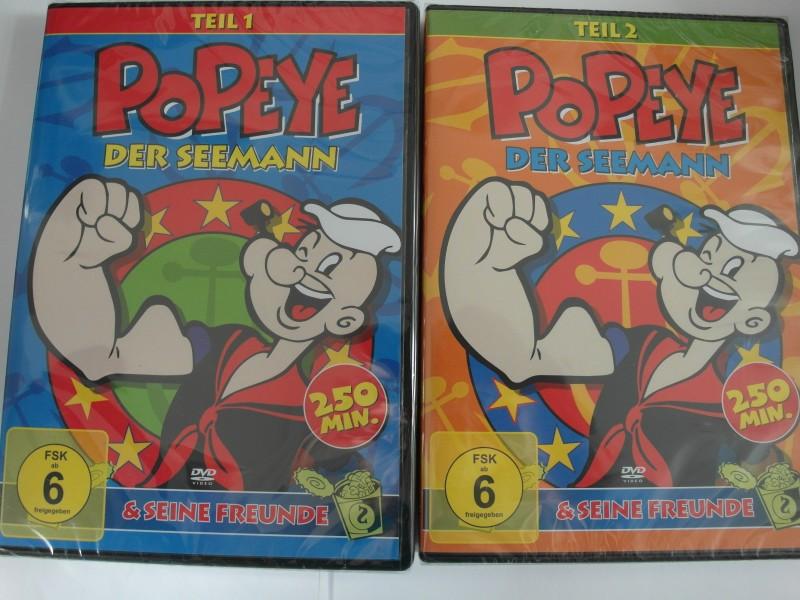 Popeye der Seemann & seine Freunde Olivia, Blutoo - 1 + 2