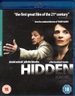HIDDEN CACHE Blu-ray UK Import Juliette Binoche Top Thriller