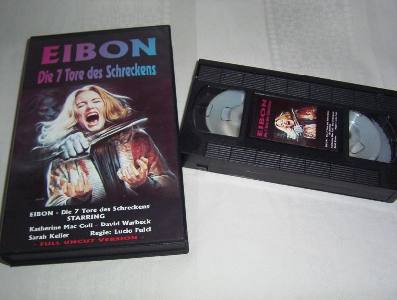 Eibon,Die 7 Tore des Schreckens -VHS-  full uncut