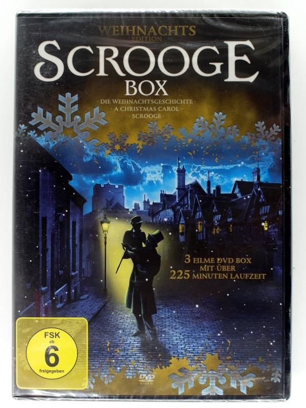 Scrooge Box - 3 Filme Charles Dickens - Magie Weihnachten kaufen ...