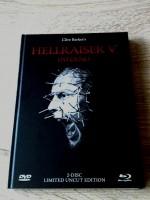 HELLRAISER 5 - INFERNO - LIM.MEDIABOOK (BLACK) OVP - UNCUT