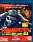 FRANKENSTEIN AND THE MONSTER FROM HELL Blu-ray + DVD Import