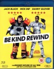 BE KIND REWIND Blu-ray UK Import ABGEDREHT Jack Black