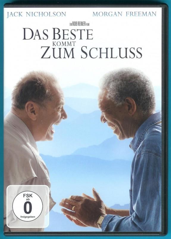 Das Beste kommt zum Schluss DVD Jack Nicholson f. NEUWERTIG