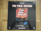 The Big Bullet FINAL uncut EDITION Laserdisk NEU & OVP