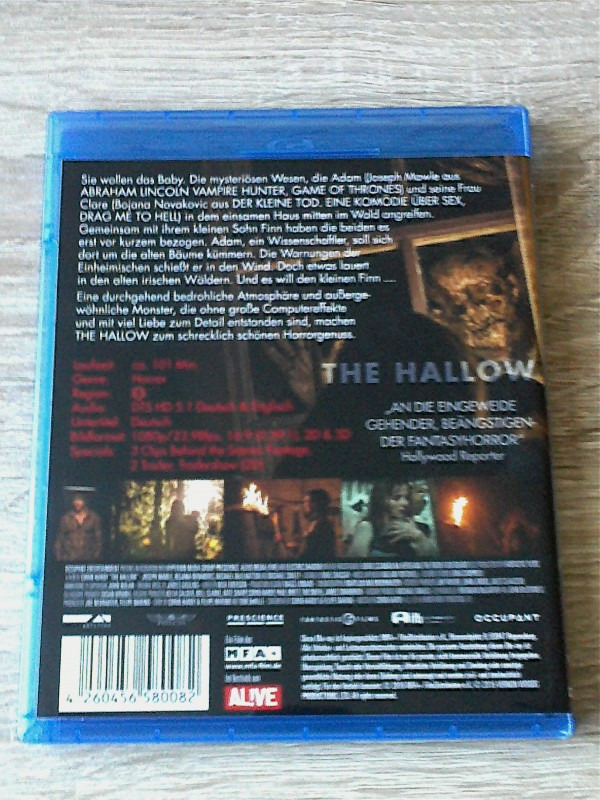 THE HALLOW 3D (MYSTERIÖSE WESEN) BLURAY - UNCUT