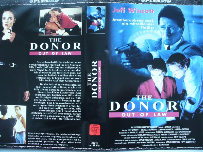The Donor - Out of Law ... Jeff Wincott, Michelle Johnson