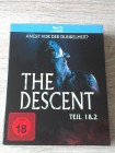 THE DESCENT 1&2 - KLASSIKER - BLURAY IM SCHUBER - UNCUT