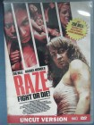 Raze Fight or Die DVD uncut FSK18 Wendecover