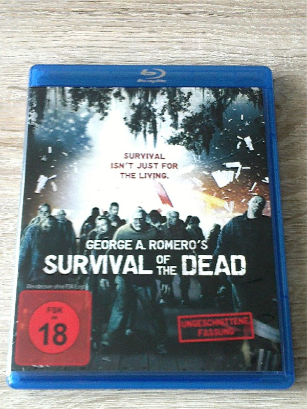 SURVIVAL OF THE DEAD(GEORGE A.ROMERO)BLURAY  UNCUT