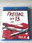 FREITAG DER 13  TEIL 2 (SPECIAL EDITION) BLURAY - UNCUT