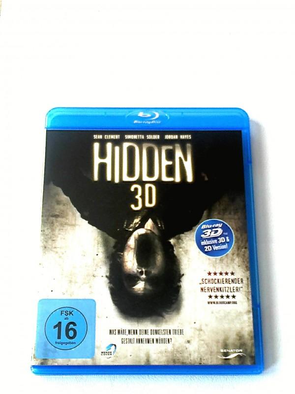 HIDDEN 3D(IM HOUNTED HOUSE STILL)BLURAY  UNCUT