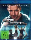 REAL STEEL Blu-ray - Hugh Jackman Roboter Fights SciFi