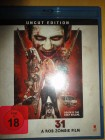 31 - a Rob Zombie Film, uncut, deutsch , Blu-Ray