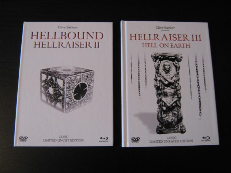 Hellbound: Hellraiser 2 & Hellraiser 3 - Mediabook White