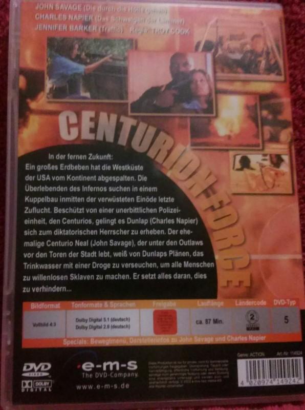 Centurion Force Dvd Uncut (L) John Savage/Charles Napier