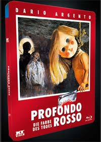 XT-Video: PROFONDO ROSSO (Blu-Ray) - Metalpak NEU/OVP