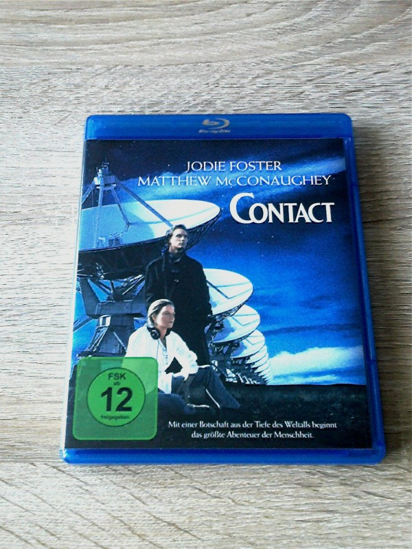 CONTACT(JODIE FOSTER - SCI FICTION)BLURAY  UNCUT