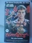 VHS -  Bloodsport - Cannon-VMP Video - Hartbox