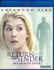 RETURN TO SENDER Blu-ray - Rosamund Pike Mystery