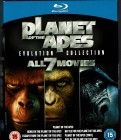 Planet der Affen 1968 - Prevolution, 7 Blu Ray, z.T: Deutsch