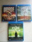 Die Horde - The Crazies - The Fog - Blu Ray Sammlung
