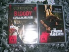 BLOODY SERIAL MASSACRE + VIRGINIA MASSACRE DVD NEU OVP