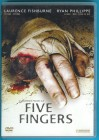 Five Fingers DVD Laurence Fishburne Ryan Phillippe NEUWERTIG