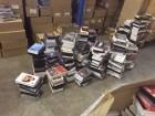 100 VHS Kassetten gebrauchte, neue Pressekassetten