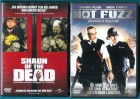 Hot Fuzz & Shaun of the Dead  DVD Einzelkaufversionen s g Z