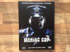 MANIAC COP 3 DISC BLU RAY / DVD MEDIABOOK COVER D