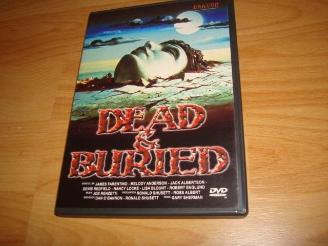 Dead & Buried DVD uncut von Dragon Tot und Begraben 1981