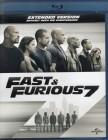 FAST & FURIOUS 7 Blu-ray - Dwayne Johnson Paul Walker