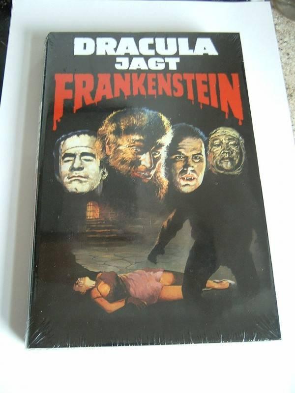 Dracula jagt Frankenstein (große Buchbox, limitiert, OVP)