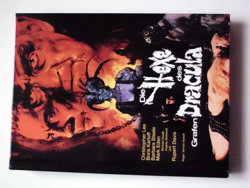 Die Hexe des Grafen Dracula (Blu-Ray+2DVD) - Mediabook A